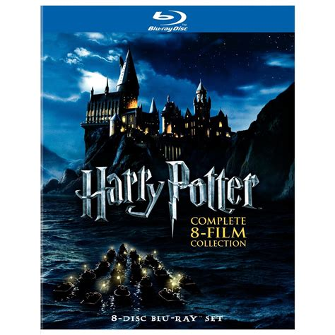 harry potter movies harry potter 8 film collection box set blu ray 169 2011