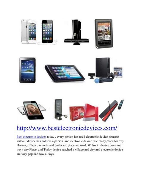 best electronic devices home