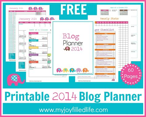 free printable life planners 2015 how to create a blogging schedule 11 free blog planners