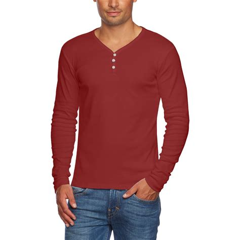 Button Cotton Shirt alta s slim fit v neck sleeve cotton t shirt with