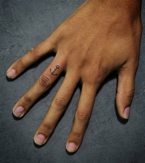 anchor tattoo on finger anchor on finger designs ideas and meaning