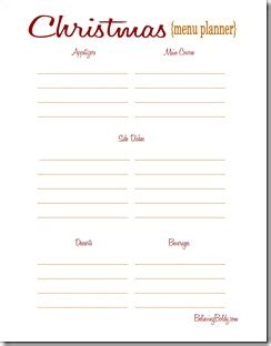 printable holiday menu planner believing boldly christmas dinner planning free printable
