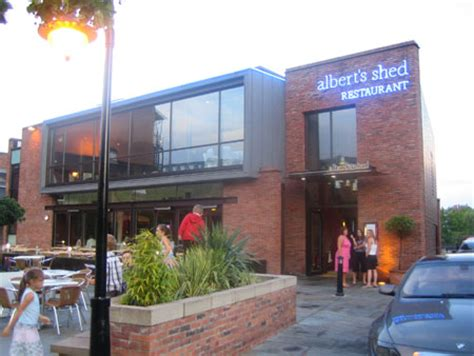 Alberts Shed Menu by Manchester Pub Stagger 3 The Castlefield Run