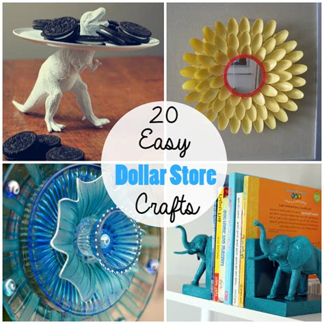 diy dollar store crafts 20 cheap simple dollar store crafts the craftiest