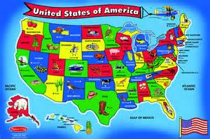 United States Puzzle Map pics photos united states state map puzzle