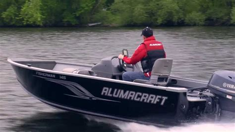 lund boats vs alumacraft 2013 alumacraft fisherman series youtube