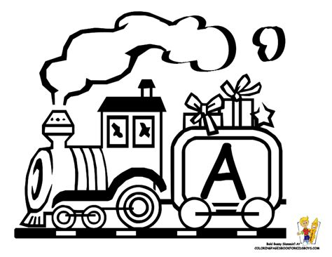 coloring pages of a christmas train christmas train coloring pages toy coloring home