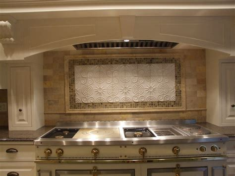 french kitchen backsplash custom backsplash over french la cornue range westfield