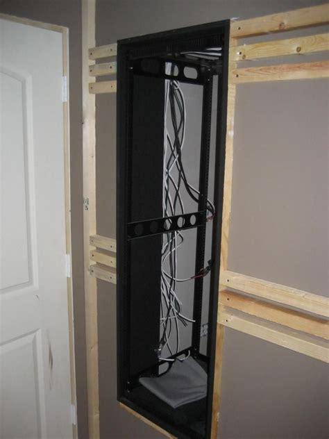av closet rack  wall design av closet