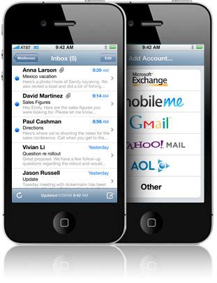 iphone email layout how to setup eastlink on iphone mainstay computing ltd