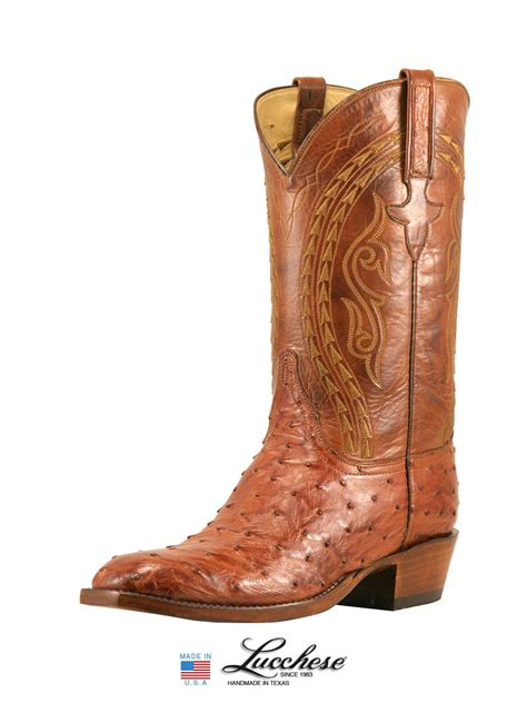ostrich boots lucchese s lucchese classics quill ostrich skin boots