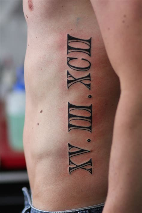 roman letter tattoo designs numeral tattoos designs ideas and meaning tattoos