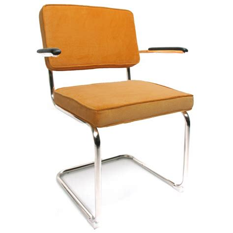 Yellow Arm Chair Design Ideas Corduroy Dining Chair With Arm Yellow Shipped Within 24 Hours Furnwise