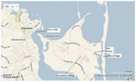 Map Of Chappaquiddick The X Spot Stipulated Chappaquiddick