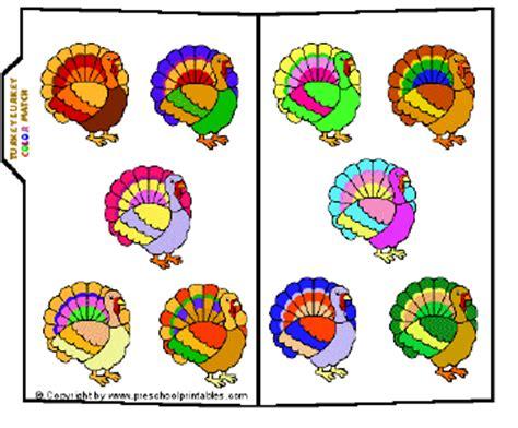 what color is a turkey preschool printables file folder turkey lurkey