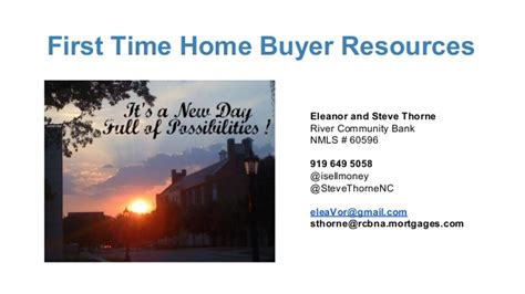 time home buyer programs nc mortgage questions answered