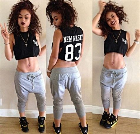 girl with swag and jordans outfit newnasty swag outfits girl jordan 83 pants workout