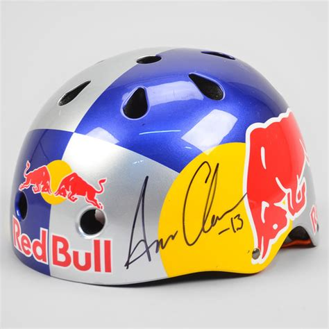 red bull helmet sixsixone red bull signed team helmet aaron chase bike