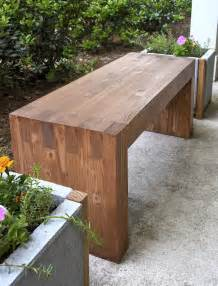 how to build a simple bench for outside williams sonoma inspired diy outdoor bench diycandy