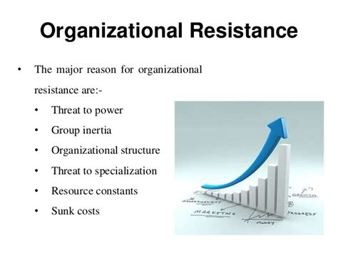 what are resistors to change resistance to change organizational change and development manu
