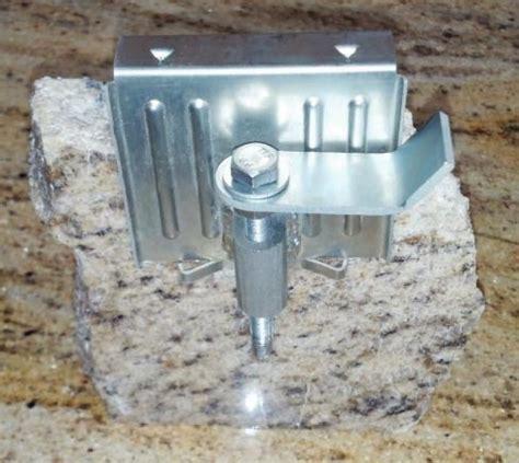 undermount sink brackets for granite slippery rock gazette fast sink bracket