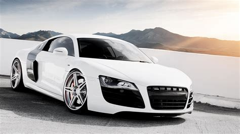 white audi r8 wallpaper wallpaper audi r8 v10 white supercar 1920x1200 hd picture