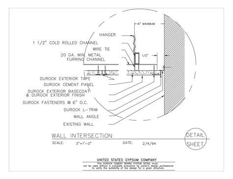 usg design studio suspension systems details