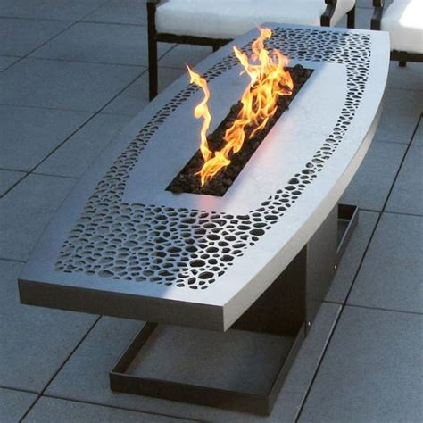 outdoor coffee table pit contemporary patio