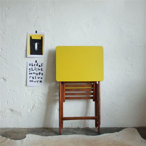bureau pliant enfant bureau enfant pliant vintage atelier du petit parc