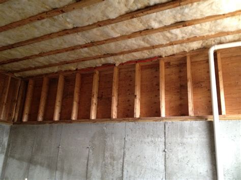 sound proofing basement ceiling rooms