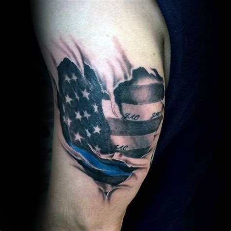 thin blue line tattoos pictures thin blue line www pixshark images