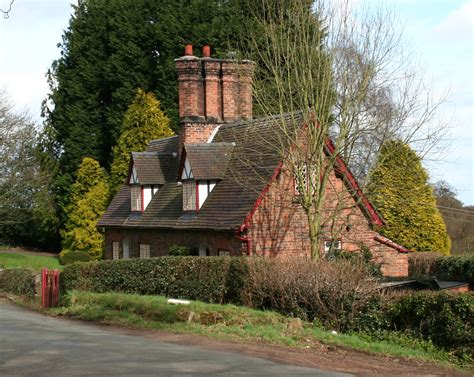 Cottages In by File Cottages Peckforton Jpg