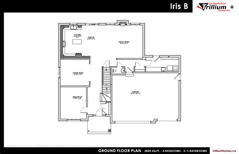 trillium floor plan 100 trillium floor plan one story homes schmidt