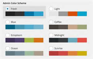 best design colors customize wordpress admin color scheme hongkiat