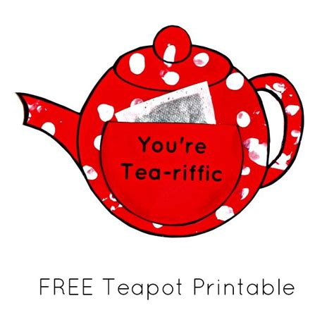 mothers day teapot card template 17 best ideas about teapot crafts on yard