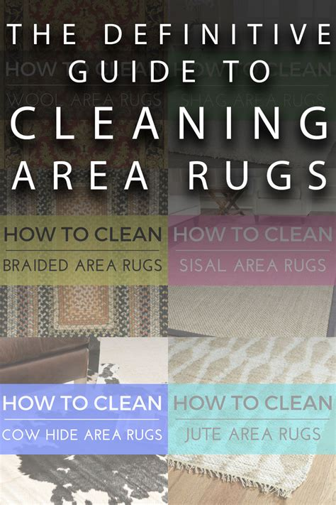 how to clean an area rug at home 17 best ideas about