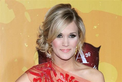 front view of side swept hairstyles carrie underwood s stunning side swept updo how to