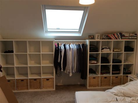 ikea hauptschlafzimmer ikea kallax clothes storage quot his hers wardrobes quot open