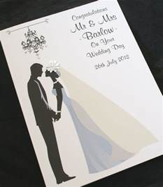 large handmade personalise groom congratulations wedding card ebay
