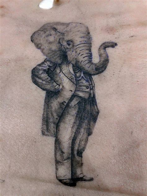 elephant tattoo on man s willy 49 best tattoo images on pinterest anchor tattoos