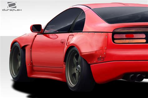 duraflex pm z fender flares complete kit 9 duraflex pm z fender flares complete kit 9 pc for 300zx