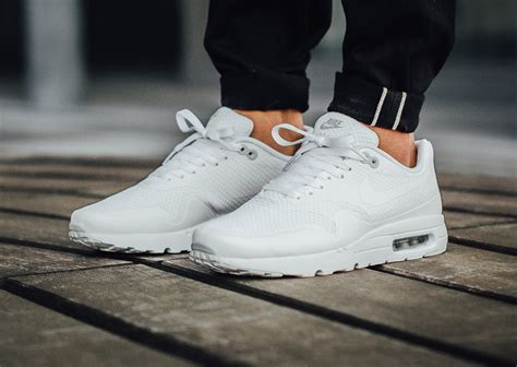 Nike Airmax 1 Essential Premium nike air max 1 ultra essential white platinum