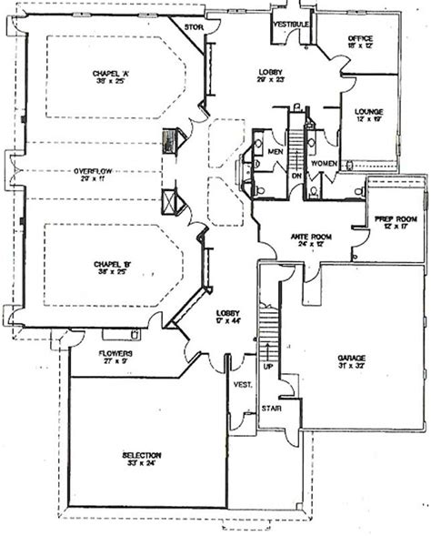 funeral home floor plans how to determine the design of a funeral home