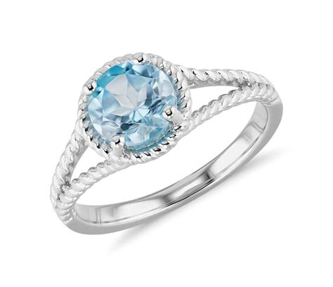 blue topaz rings a beautiful and unique selection
