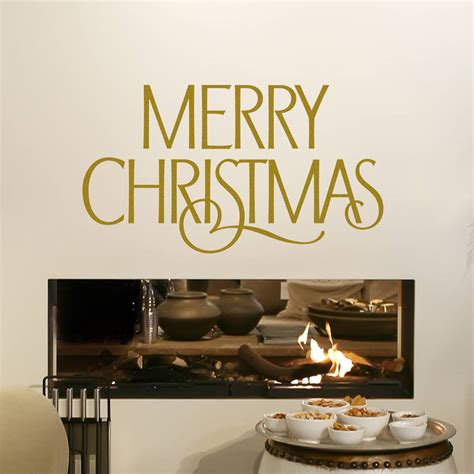 merry wall sticker merry wall sticker by snuggledust studios