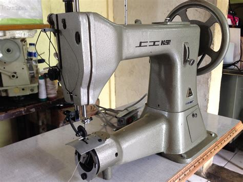 Mesin Jahit Cangklong jual mesin jahit sandal kulit shanggong ga5 cangklong harga murah jakarta oleh toko sinar tiga