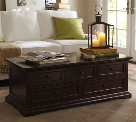 Perfect Pottery Barn Coffee Table On Pottery Barn Hudson Pottery Barn Coffee Table With Drawers