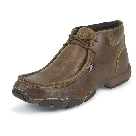 casual boots c men s justin 174 4 quot casual boots tan 582143 casual shoes