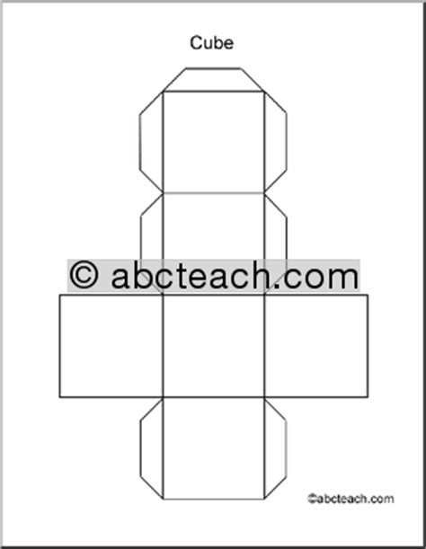 3 dimensional cube template 10 best photos of 3 dimensional shapes cut out geometry