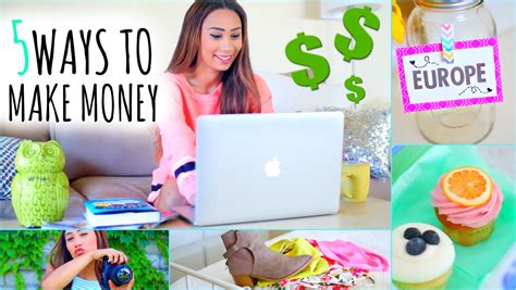 5 ways to make money this summer on the internet youtube - Ways For 12 Year Olds To Make Money Online